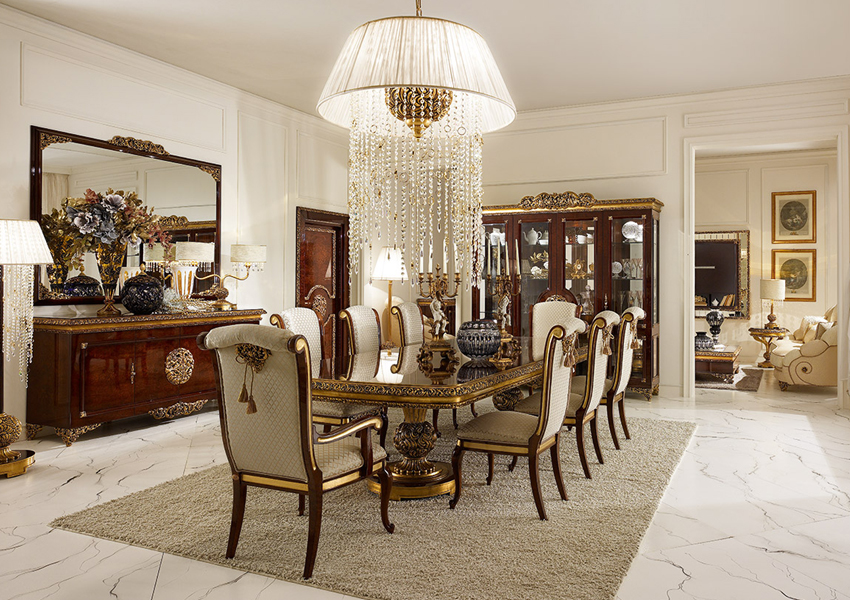 A.R Arredamenti  Gran Royal  Dining Room Collection (Rectangular)